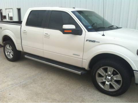 2012 Ford F-150 SuperCrew Factory Chrome Step Bars - $250 (Kemah)