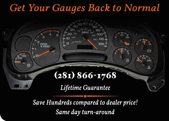 $99, Cluster Dash Gauge Repair on 00-09 GM Cars, SUVs and Trucks