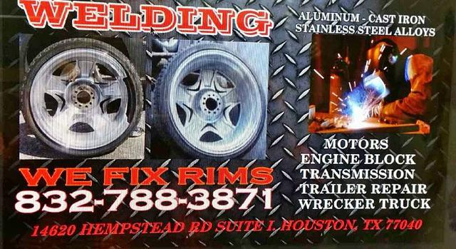 WE FIX RIMS FAST - the master in repairing wheel disasters guaranteed