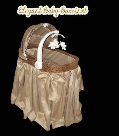 Bassinet (Rockerable) w Mobile Storage - $549 (Houston)