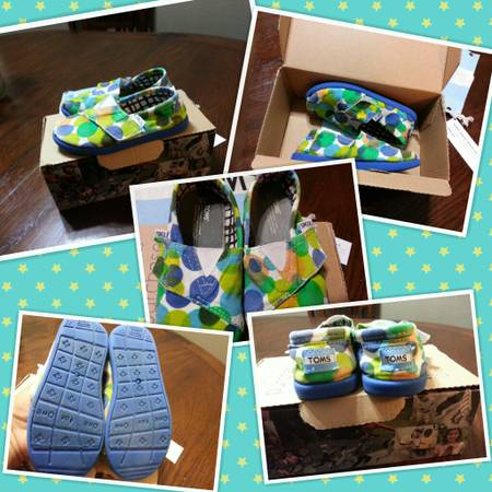 Toms shoes Size 8 Toddler - $20 (45 N and Beltway 8)