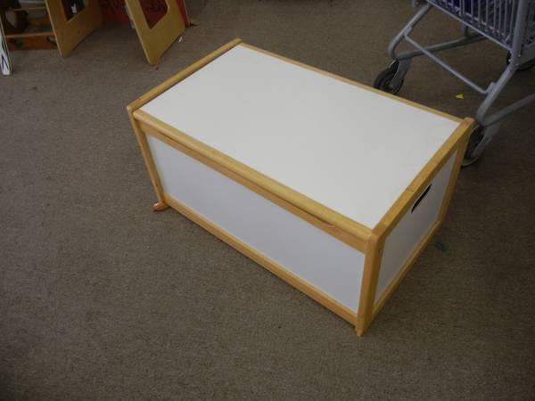 PJ Kids Pottery Barn Toy Box - $65 (From Our Home To Yours)