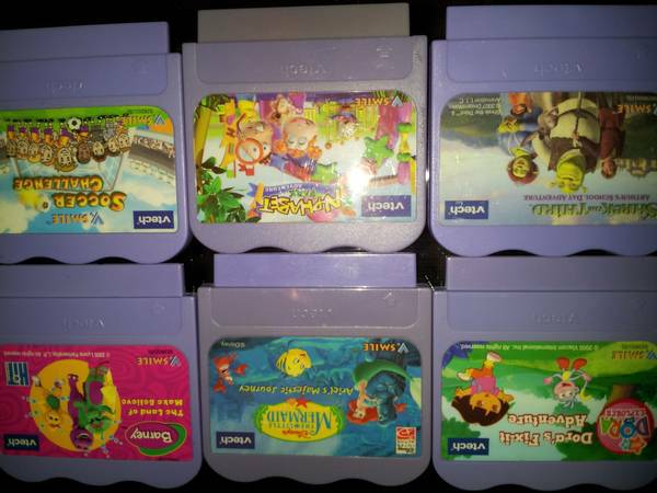 V. Smile V. Motion Console Pocket TONS of Games - x0024100 (Tomball)