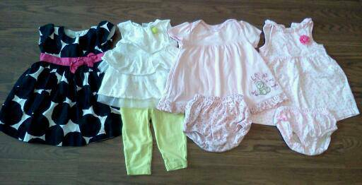 Baby Girl Clothes 6 months to 12 months - $12 (Katy Galleria)