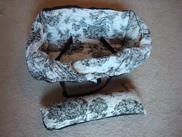 Buggy Bagg Shopping Cart Cover - Toile - $20 (Katy)