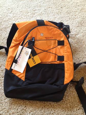 Sherpani Alpina Front Baby Carrier - Tangerine - $15 (Fairfield)