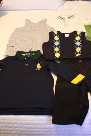 NEW 12-month Boys Clothes - $35 (Katy)