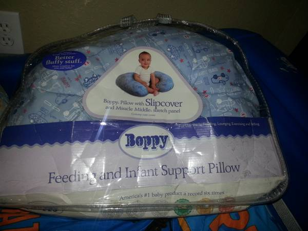 boppy pillows for baby boy - $10 (77049)