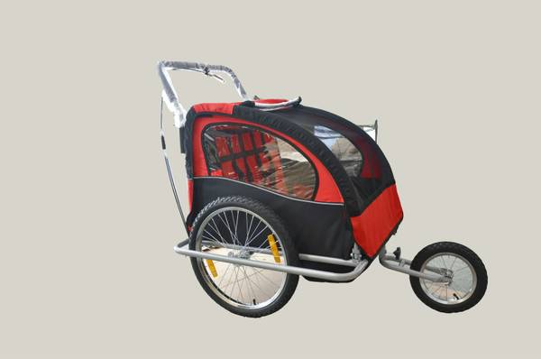 Brand New Double Baby Bike Trailer and Stroller 2in1 - $130 (Houston)