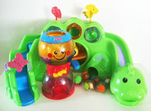 Fisher Price Rollarounds Dinosaur Gumball Machine (45 South Beltway 8 South Beamer Exit)