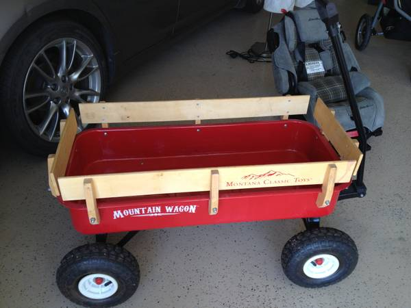 Montana Classic Toys Mountain Red Wagon - $75 (Katy)