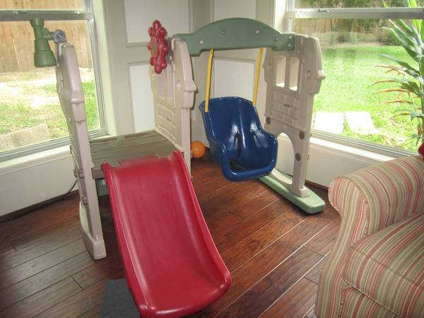 Little Tikes Swing Along Castle - $60 (Spring)