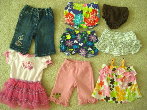 Gently used baby girl clothes clothing - $25 (Near Cinco Ranch)