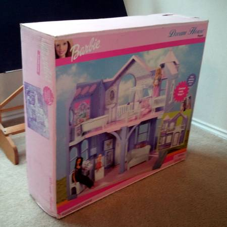 Large Barbie Victorian Dream House Playset - New in Box 2000 or 2001 - $100 (Tomball by Silverado Theatre)