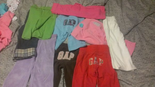 baby gap girl clothes 18 months to 2 t - $100 (77093)