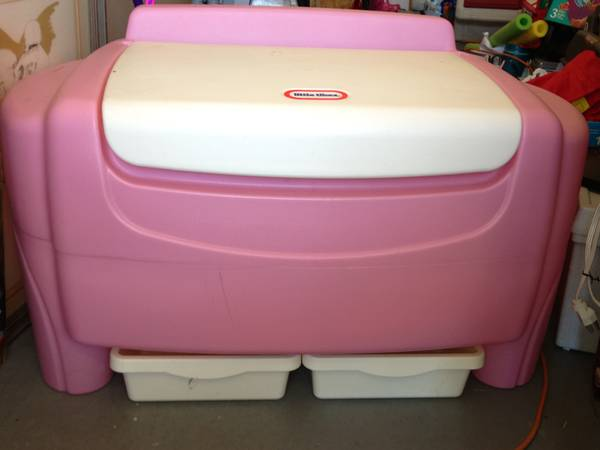 Little Tikes Sort N Store Toy Chest - Pink - $50 (DickinsonLC)