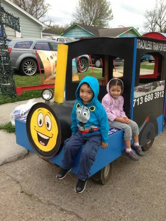 TRACKLESS TRAIN - $200 (HOUSTON)