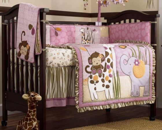 Cocalo Jacana Crib Bedding Set - Great condition - $120 (Houston - Heights Area)