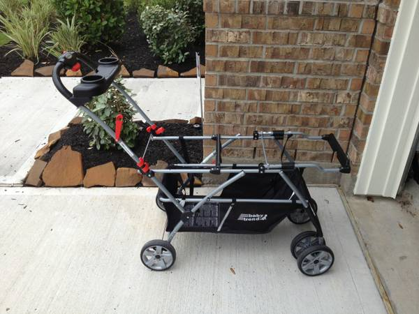 Baby Trend Snap N Go Double Stroller - $40 (Katy (Cinco Ranch))