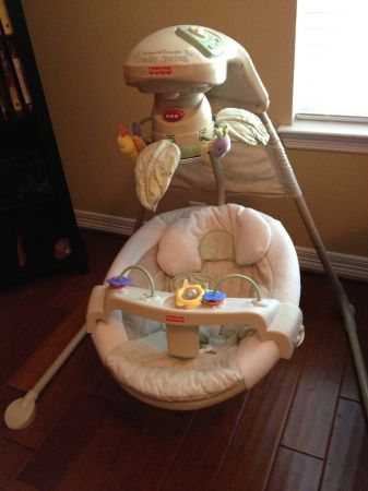 Fisher Price - Natures Touch Cradle Swing - $40 (The Woodlands)