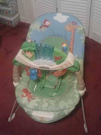 Fisher Price - Rainforest Bouncer - $30 (Northeast Houston)