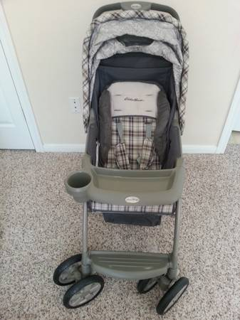 Eddie Bauer Stroller and Car Seat with Base $ 80 - $80 (Jones Rd)