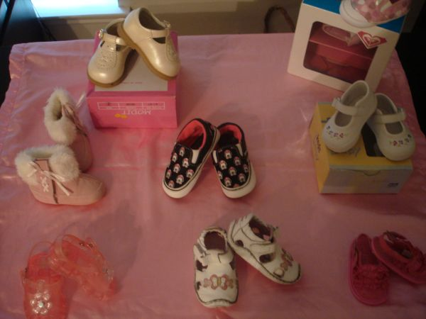 TONS of Beautiful Baby Girl Shoes Stride Rite, Vans, Keds More - $15 (Spring Branch)