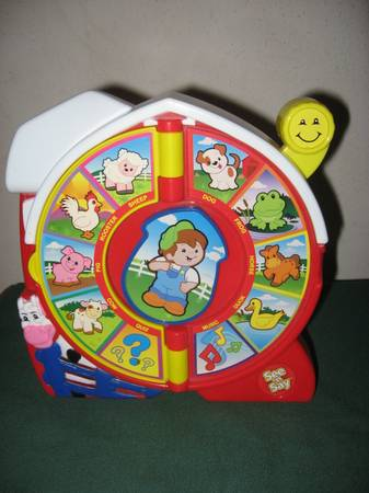Fisher-Price See N Say Farmer Says - $10 (SW Houston)