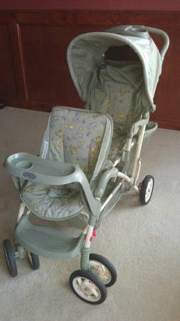 Graco Double Stroller - $45 (HOUSTON)