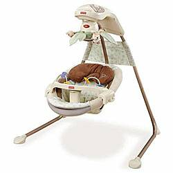 Fisher Price Natures Touch Crdle Swing - $50 (West HoustonSpring Branch)