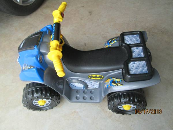 Power Wheels Batman  Barbie Lil Quad - $40 (Missouri CIty)