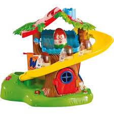 Playskool Weeble Wobble Playhouse with 4 Weebles - $10 (Kingwood - Downtown - Porter)