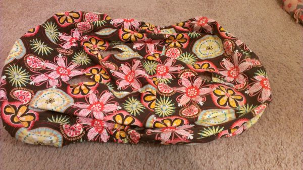 Floral Car Seat Cover Great Condition - $20 (WebsterPasadena)