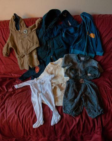 Baby Boy Winter Clothes 3-6 months  10 Lot - $10 (SW)