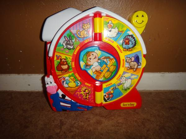 Fisher Price The Farmer See and Say - $3 (Katy )