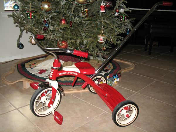 Radio Flyer Classic Red 10 Tricycle with Push Handle  - $40 (Katy )