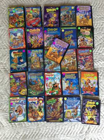 Huge lot of Scooby Doo DVDs - $50 (West U.)