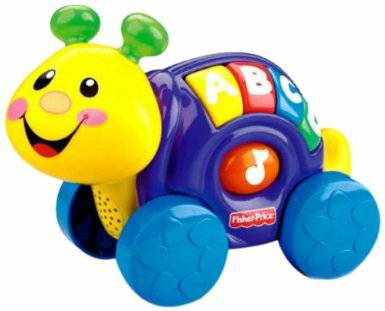 Fisher Price Laugh Learn Roll-Along Snail Infant Baby Toy - $5 (Spring)