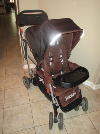 Joovy Caboose Ultralight Stand On Tandem Stroller - $125 (TomballSpringThe Woodlands)
