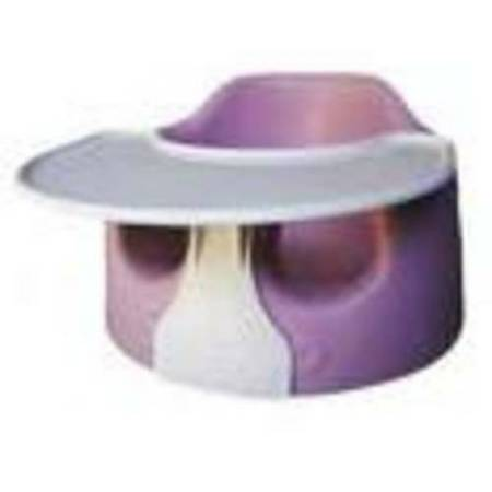 Purple Bumbo w Tray - $25 (League City, Clear Lake, Friendswood)