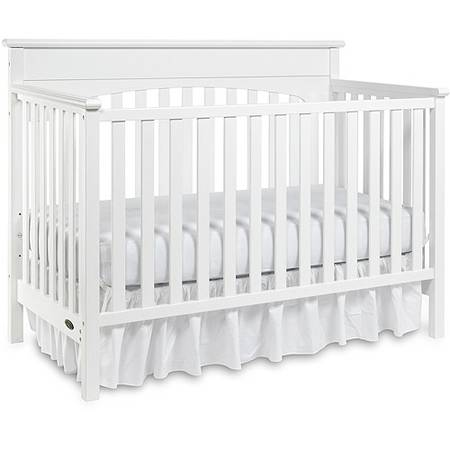 Graco - Lauren 4-in-1 Convertible Classic Crib, White - $100 (Northwest)