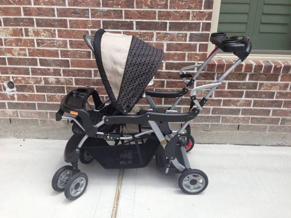 Sit and stand stroller by One Step Ahead  - $100 (Katy)