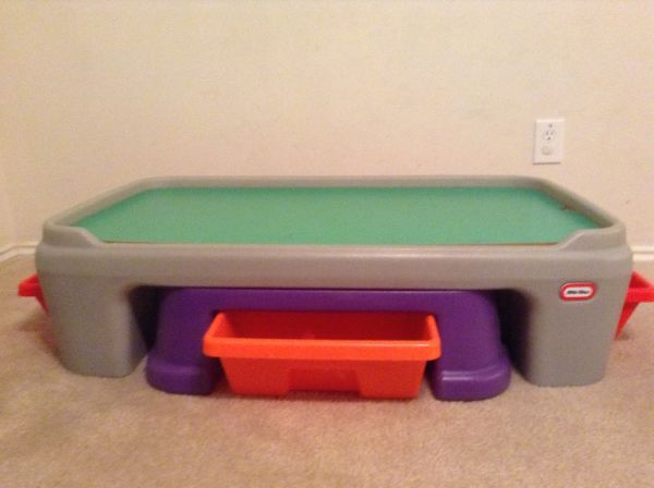 Little Tikes Activity Train Adjustable EasyAdjust Play Table - $35 (Tomball, 77375  NW Houston)