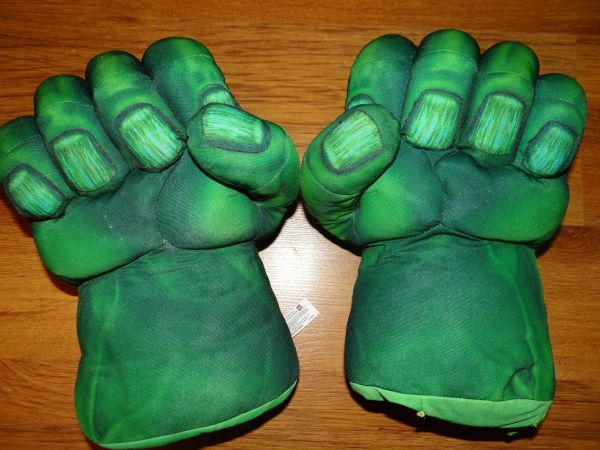 Marvel Hulk Hands - $20 (Pearland)