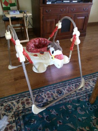 Horse Jumperoo - $45 (Pearland)
