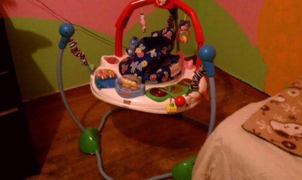 Fisher Price Laugh n Learn Jumperoo  - $60 (north houston)