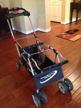 Baby Trend Snap-N-Go Double Stroller - $60 (The Woodlands)
