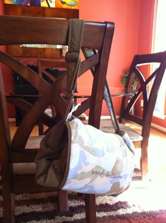 Supercute, plush Wendy Bellissimo shopping cart highchair cover - $15 (Katy)