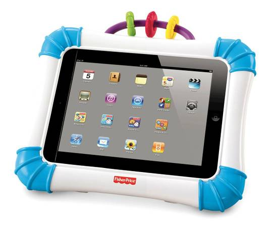 Fisher Price Laugh Learn Apptivity Case for iPad devices (Blue) - $15 (Spring)