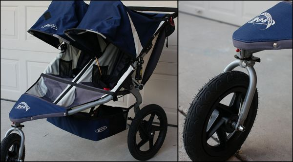 BOB double stroller - $375 (Humble)